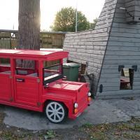 Czerwone auto :)